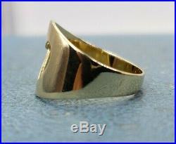 14k James Avery Retired Heart Cutout Ring