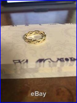 Authentic JAMES AVERY RETIRED 14K GOLD RING SZ 5.25