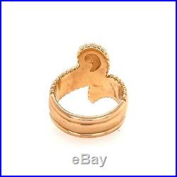 Gorgeous Extremely Rare Retired James Avery Ring 14k Yellow Gold Size 7.5