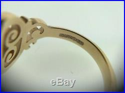 JAMES AVERY 14k Yellow Gold Spanish Swirl Ring Size 6