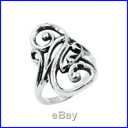 JAMES AVERY Silver Electra Ring Size 8.25 925 Silver