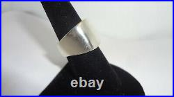 JAMES AVERY Vintage Heavy Smooth Chunky Sterling Silver Ring Size 7.25 19.1 Gr