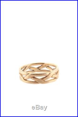 James Avery 14KT Yellow Gold Braided Band Ring