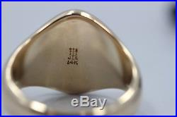 James Avery 14K Gold Signet Ring