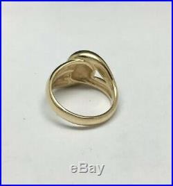 James Avery 14K Yellow Gold Cadena Ring Size 7