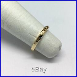 James Avery 14K Yellow Gold Charm Ring Size 3.5