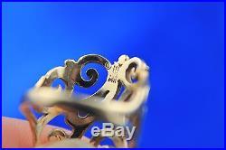 James Avery 14K Yellow Gold Open Sorrento Women's Ring Size 5