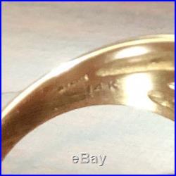 James Avery 14k Gold Cadena Ring Size 7