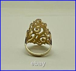 James Avery 14k Gold Long Sorrento Ring