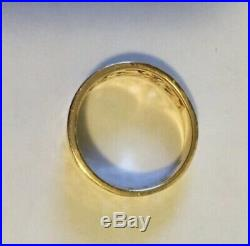 James Avery 14k Gold adoree ring. Size 7. Retail is $410.00. Box, card and pouch