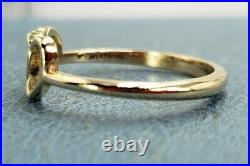 James Avery 14k Two Hearts Together Ring Size 10