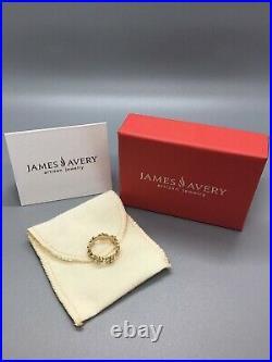 James Avery 14k Yellow Gold Margarita Daisy Ring 4