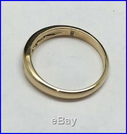 James Avery 18K Yellow Gold Debra Diamond Ring Size 8.25