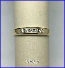 James Avery 18K Yellow Gold Debra Diamond Ring Size 9.25