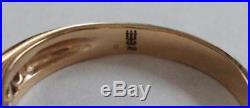 James Avery 18K Yellow Gold Diamond Debra Ring Sz 7-1/2