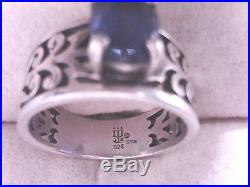 James Avery Adoree Ring With Sapphire. 925 Size 7, 23% Off Retail! (18003306)