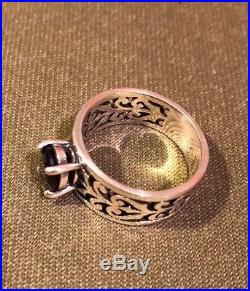 James Avery Adoree Ring with Garnet size 7 Fabulous James Avery