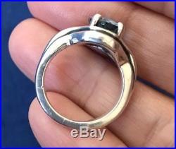 James Avery Adriana Blue Topaz Sterling Silver Ring