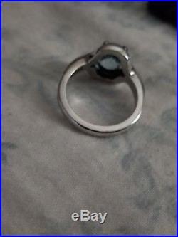 James Avery Adriana ring with Blue Topaz
