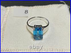 James Avery Bella Ring with Blue Topaz