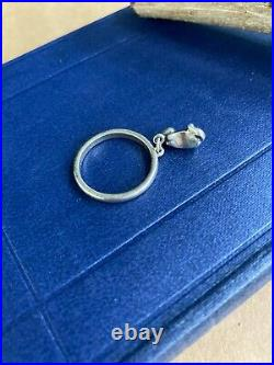 James Avery Dangle Ring Cat Charm Sterling Silver Retired Vintage
