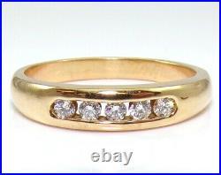 James Avery Debra Diamond 18K Yellow Gold Ring Wedding Band Size 7 LJA2