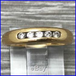 James Avery Diamond Debra Ring RG-999 Sz 6 18K Gold. 750