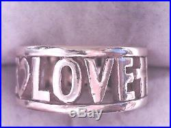 James Avery Faith, Hope & Love Ring, 14k Size 7, 24% Off Retail! (18003301)