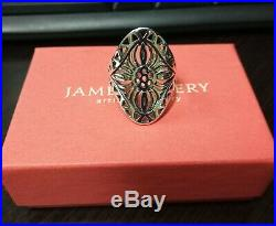 James Avery Flor Del Sol Ring Size 9 (Retired)