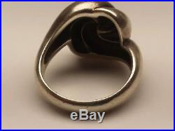 James Avery French Knot Swirl Ring, Size 8.5, Retired, Rare! (18002518)