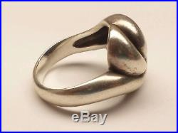 James Avery French Knot Swirl Ring, Size 8.5, Retired, Rare! (19002518)
