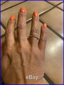 James Avery Gold Twisted Wire Ring