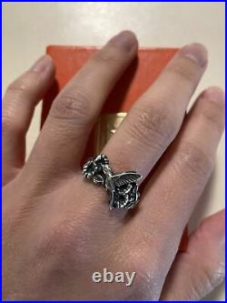James Avery Hummingbird Flower Sterling Silver Ring Retired Limited 60th Bird