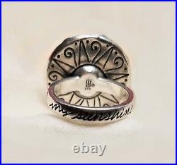 James Avery MY SUNSHINE RING Size 7 925 Retired Sun Face