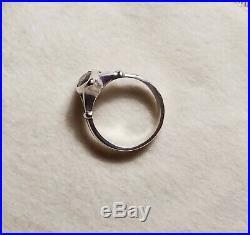James Avery Marquis Garnet Ring Size 7 925 Retired SUPER RARE
