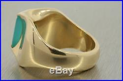 James Avery Monaco 14k Yellow Gold Ring Chalcedony size 8