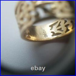James Avery Open Adorned Filigree 14k Gold Ring Sz 5