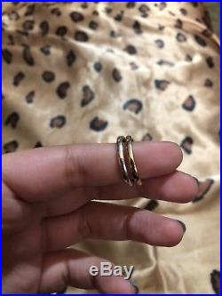 James Avery Original Silver And Gold Lovers Knot Ring Size 8
