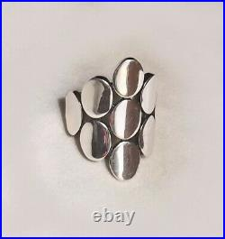 James Avery Oval Reflections Ring Retired Size 9 Sterling Silver 925