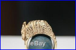 James Avery RETIRED Armadillo Ring Size 6 Yellow Gold