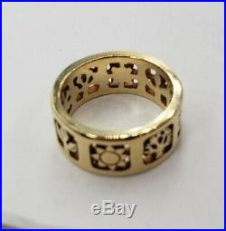 James Avery Retired 14k Four Seasons Ring Size 6 Excellent Condition