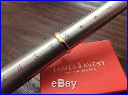 James Avery Retired 14k Gold 11 Diamond Margarita Daisy Flower Ring Size 10 1/2