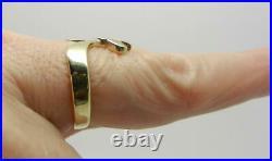 James Avery Retired 14k Yellow Gold Descending Dove Ring Rare Find Lb3142