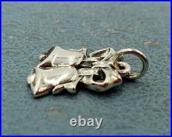 James Avery Retired Christmas Bell Charm Mint Condition Uncut Ring. Sterling