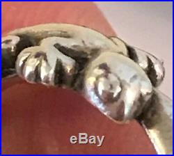 James Avery Retired Gecko Ring Size 6 Sterling Silver Rare Ja Box