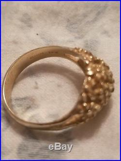 James Avery Retired Margarita Dome Ring 14k Gold