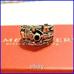 James Avery Retired Martin Luther Ring Sz 6.5 -excellent Condition