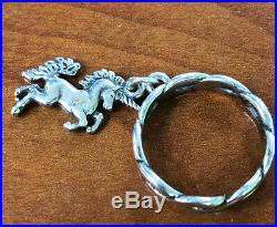 James Avery Retired Unicorn Dangle Charm Ring Twisted Wire 925 Sterling