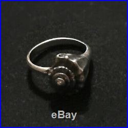 James Avery Retired Whelk Shell Ring Sterling Silver Size 7.25