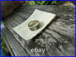 James Avery Ring Sz 9 14K Gold Sterling Silver 925 585